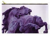 Horse Sculptures Carry-all Pouch