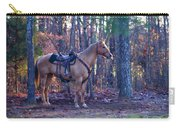 Horse Waiting For Rider Carry-all Pouch