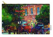 Horsedrawn Carriage Carry-all Pouch