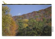 Horses And Autumn Landscape Carry-all Pouch
