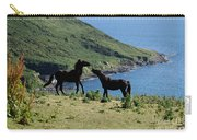 Horses By The Sea Carry-all Pouch