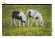 Horses Grazing, County Tyrone, Ireland Carry-all Pouch