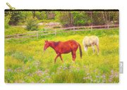 Horses Paradise Carry-all Pouch