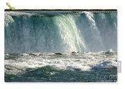 Horseshoe Falls Closeup Over The Brink Carry-all Pouch