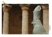 Horus Temple Of Edfu Egypt Carry-all Pouch