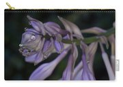 Hosta Blossoms With Dew Drops Carry-all Pouch