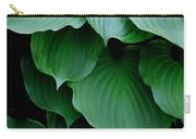 Hosta Green Carry-all Pouch