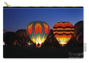 Hot Air Balloons At Dusk Carry-all Pouch