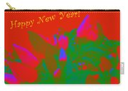 Hot As A Pepper New Year Greeting Card Carry-all Pouch