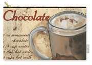 Hot Chocolate Carry-all Pouch by Debbie DeWitt