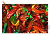 Hot Peppers Carry-all Pouch by Robert Bales