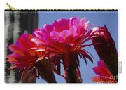 Hot Pink Cactus Flowers Carry-all Pouch