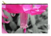 Hot Pink Cactus Carry-all Pouch by Kaye Menner