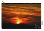 Hot Summer Night Sunset Carry-all Pouch