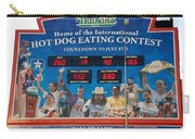 Hotdog Eating Contest Time Carry-all Pouch