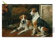Hounds In A Stable Interior Carry-all Pouch