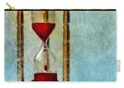 Hour Glass Dripping Blood Carry-all Pouch