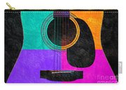 Hour Glass Guitar 4 Colors 2 Carry-all Pouch