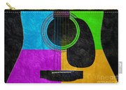 Hour Glass Guitar 4 Colors 3 Carry-all Pouch