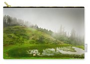 House And Fog Carry-all Pouch by Syed Aqueel