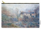House At Falaise Carry-all Pouch by Claude Monet