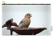 House Finch Eating Jelly Carry-all Pouch