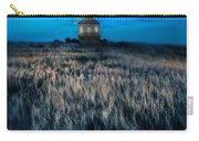 House On The Prairie Under A Full Moon Carry-all Pouch