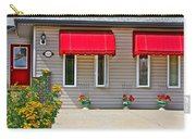 House With Red Shades. Carry-all Pouch