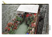 Houseboats In Paris Carry-all Pouch by Elena Elisseeva