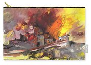 Houses In Fire Carry-all Pouch