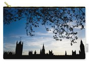 Houses Of Parliament Silhouette Carry-all Pouch
