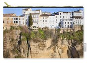 Houses On A Cliff In Ronda Town Carry-all Pouch