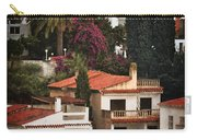 Houses On The Hill Nerja Carry-all Pouch by Mary Machare
