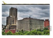 Hsbc Tower    Ellicott Square Buliding Carry-all Pouch