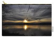 Hudson River Sunset Carry-all Pouch