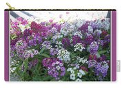 Hues Of Purple Phlox Carry-all Pouch