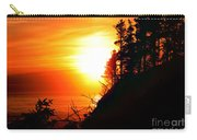 Hug Point Sunset Oregon Carry-all Pouch