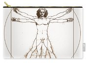 Human Body By Da Vinci Carry-all Pouch