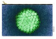 Human Papilloma Virus Hpv Carry-all Pouch by Science Source