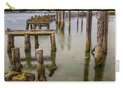 Humboldt Bay Over Darkening Skies Carry-all Pouch
