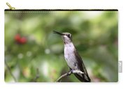 Hummingbird - Berries Carry-all Pouch