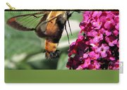 Hummingbird Clearwing Moth Carry-all Pouch