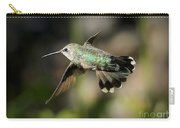 Hummingbird Fly By Carry-all Pouch