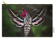 Hummingbird Moth - White-lined Sphinx Moth Carry-all Pouch