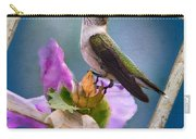 Hummingbird Picture Pretty Carry-all Pouch
