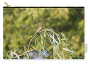 Hummingbird Resting In The Willow Carry-all Pouch