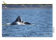 Hump Back Whale In Alaska Carry-all Pouch