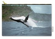 Humpback Whale Megaptera Novaeangliae Carry-all Pouch