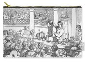 Humphrey Davy Lecturing, 1809 Carry-all Pouch by Science Source