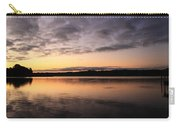 Hungry Fish At Sunrise Carry-all Pouch